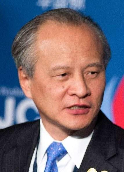 中國駐美大使崔天凱。(路透)
