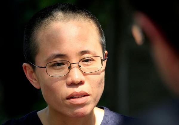 作家廖亦武今日在維權網站《China Change》與香港《眾新聞》上公開本月初一段他與劉霞(見圖)通話的錄音檔。(資料照,路透)