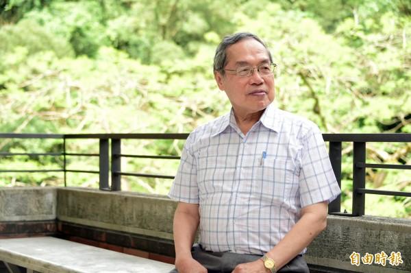 政大教授陳芳明。(資料照,記者胡舜翔攝)