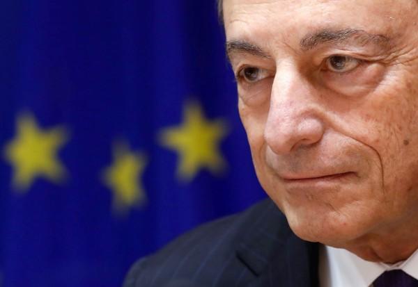 歐洲央行總裁德拉吉(Mario Draghi)在德國法蘭克福舉行的記者會上說:「如果你對盟友課徵關稅,那到底誰是你的敵人。」(路透社)