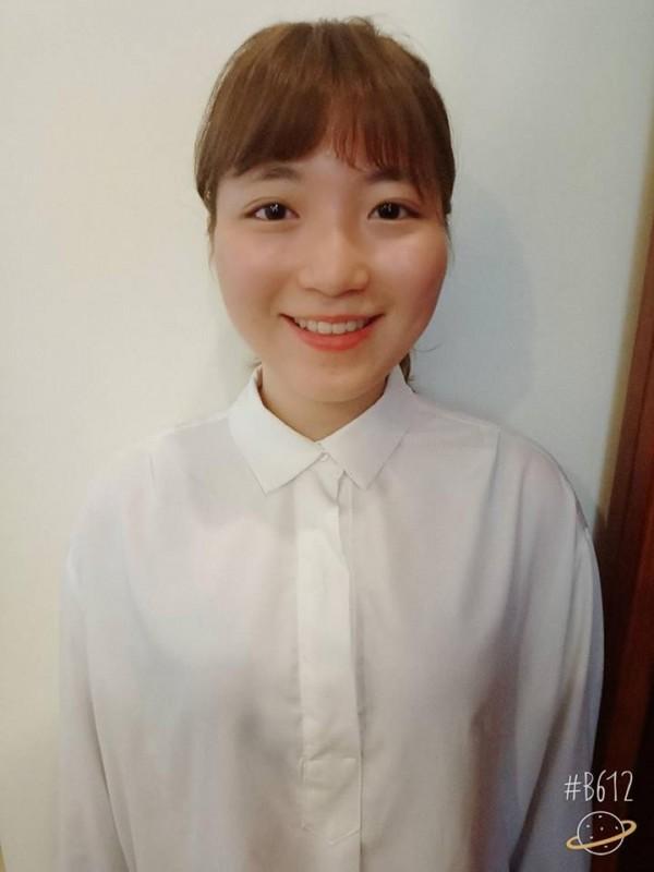 剛滿23歲的黃盈淇,今年才從中華大學餐旅管理系畢業。(圖取自黃盈淇臉書)