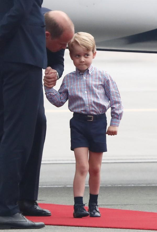 英國喬治王子。(路透)