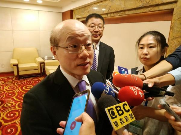 中國國台辦主任劉結一,確定出席金廈通水典禮並致詞。(中央社資料照)