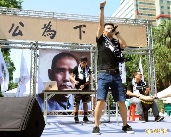 樂團拷秋勤在臉書發文,指賴清德抵制賄選,卻反遭監察院惡意彈劾,但國民黨掌權下的台灣,許多惡質的狀況都沒被處理。(資料照,記者王敏為攝)