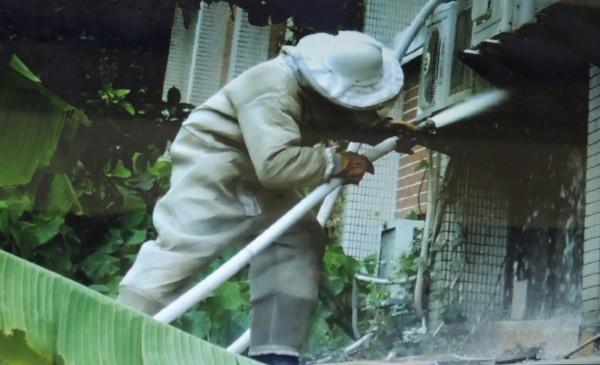 捕蜂抓蛇作業,當年是柯文哲去除消防冗事「回歸專業第一槍」,但市議員批評,目前六都中僅北市沒落實分家。(資料照)