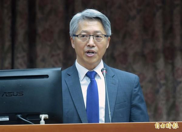 立法院教育及文化委員會今邀請中研院長廖俊智列席報告並備詢。(記者黃耀徵攝)