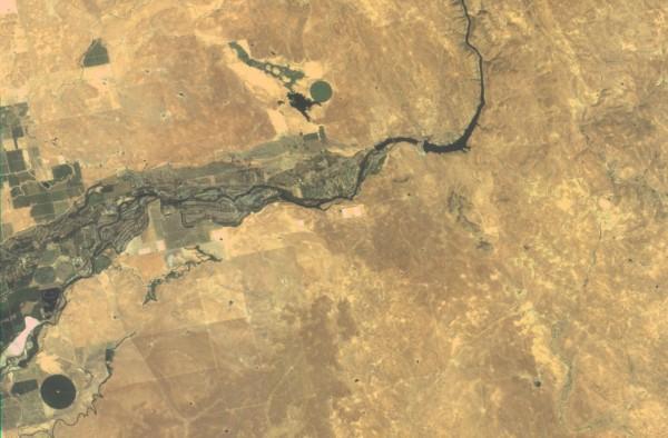 福衛5號所拍攝的舊金山地區照片。(太空中心提供)
