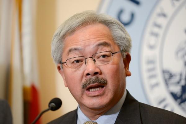 舊金山華裔市長李孟賢12日去世。(資料照,路透)