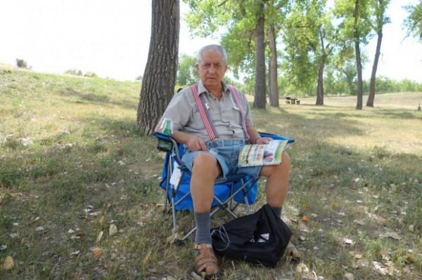 82歲的老翁科米沙奇患有失智,受困於電梯內死亡。(圖取自The Denver Post)
