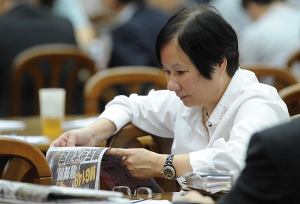 羅淑蕾指控柯文哲介入中國器官捐贈買賣,指稱柯就是「器官捐贈小組」的負責人,要柯文哲出來釐清,還要求公開帳務清單。(資料照,記者劉信德攝)