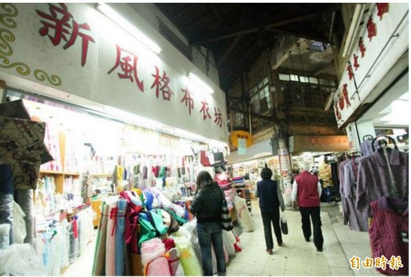 台南西門市場。(資料照)