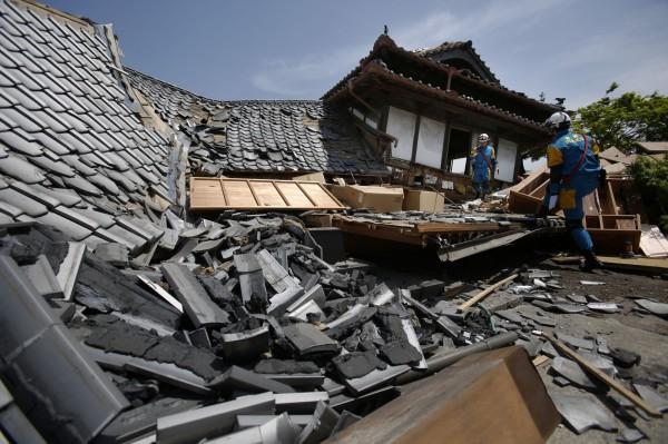 熊本又震規模7.3 威力等同阪神大地震