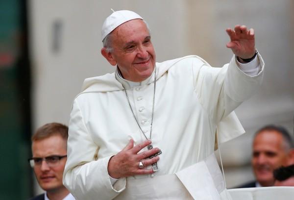 我國曾數度邀請現任教宗方濟各訪台,但都遭婉拒。(路透)