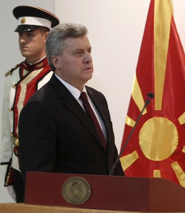馬奇頓總統伊凡諾夫(見圖)宣布,拒絕簽署協議。(路透)