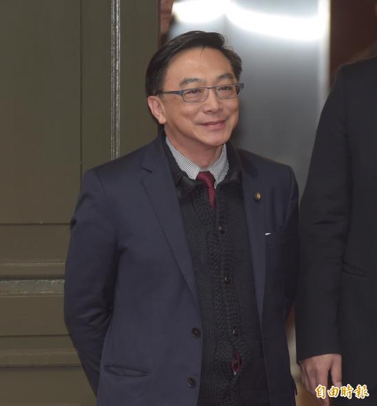 国民党立委陈宜民第4名。(记者黄耀徵摄)