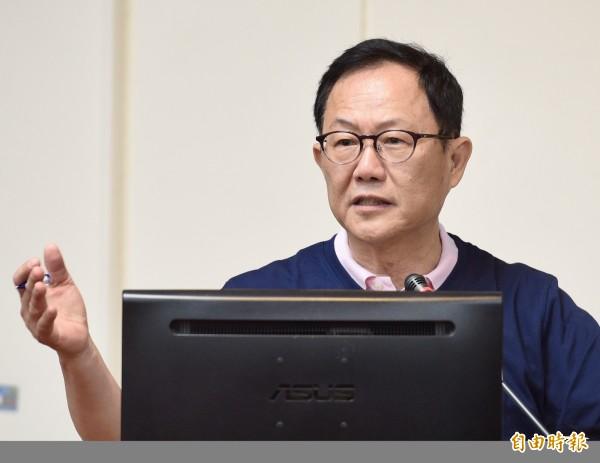 国民党提名台北市长参选人丁守中。(资料照)