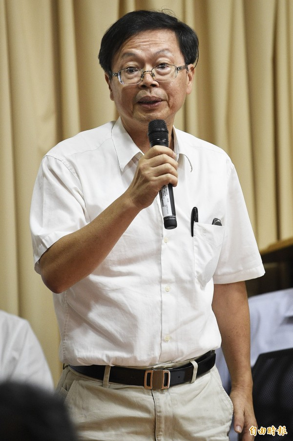 國研院副院長吳光鐘(見圖)提到,知名的哈伯太空望遠鏡也耗時3年才解決影像問題,福5調校至少也需要2到3個月時間。(記者陳志曲攝)
