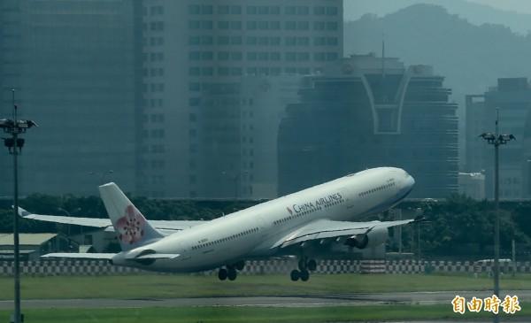 華航發生日籍乘客毆打機組人員的事件,目前日警已介入調查。(資料照,記者簡榮豐攝)
