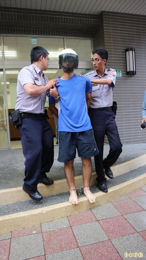 31歲伊朗籍男子瓦希德(音譯)昨上午在凱道痛毆2名員警。(資料照,記者陳薏云攝)