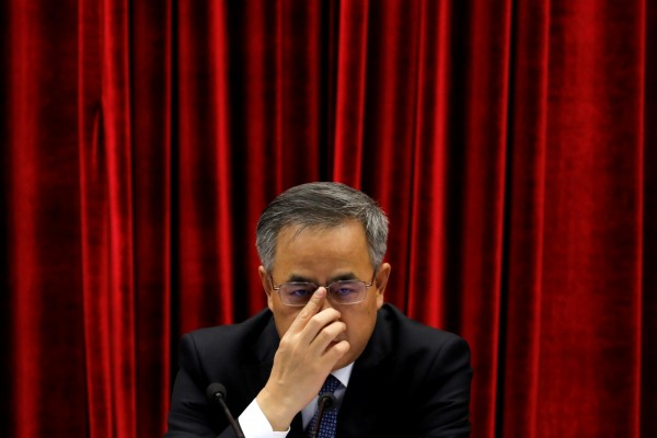 廣東省委書記胡春華,在本月28日宣布支持中共黨中央決定。(路透社)