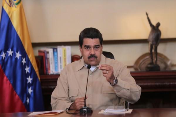 委內瑞拉總統馬杜羅。(法新社)