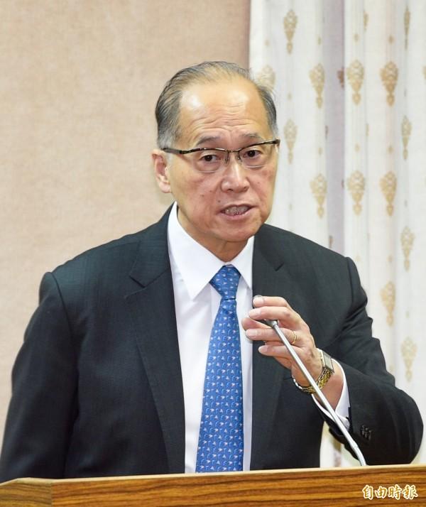 外交部長李大維。(資料照,記者羅沛德攝)
