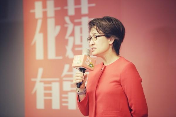 對於花蓮縣長選舉,民進黨立委蕭美琴表示,這個月會持續協調,不久後應該就會協調出人選。(資料照,文總提供)