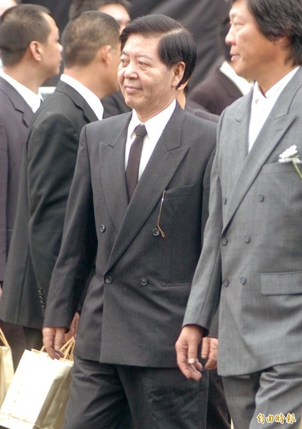 前國防部情報局第三處副處長陳虎門(中)。(資料照,記者鹿俊為攝)