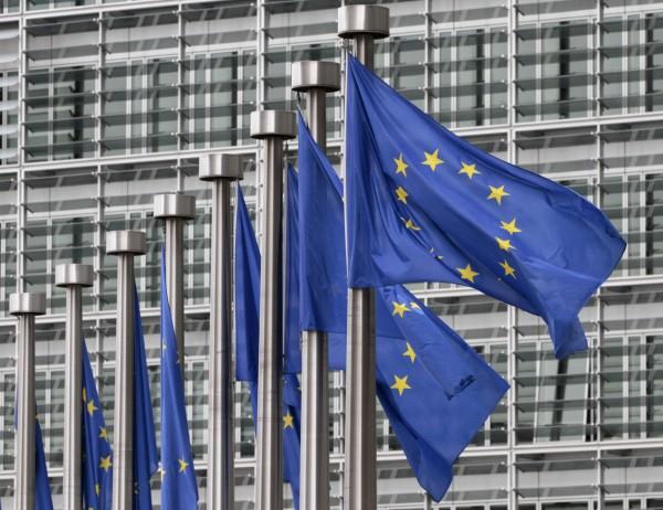 歐盟執委會近日公布貿易政策報告期中檢討文件,當中載明,歐盟已準備與台灣展開投資談判。(美聯社)