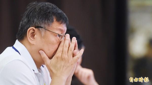 台北市長柯文哲母親認為,呂秀蓮在上一次選舉就已阻擋柯P參選。(資料照,記者朱沛雄攝)
