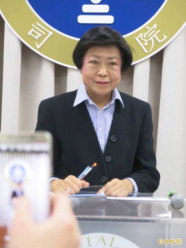 司法院秘書長林錦芳。(記者溫于德攝)