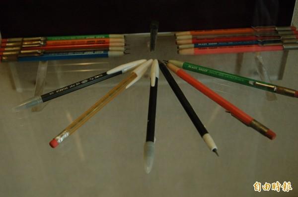 曾創作《大嬸婆》的知名漫畫家劉興欽,曾經進行改良免削鉛筆,取得「自來免削鉛筆」專利。(資料照)