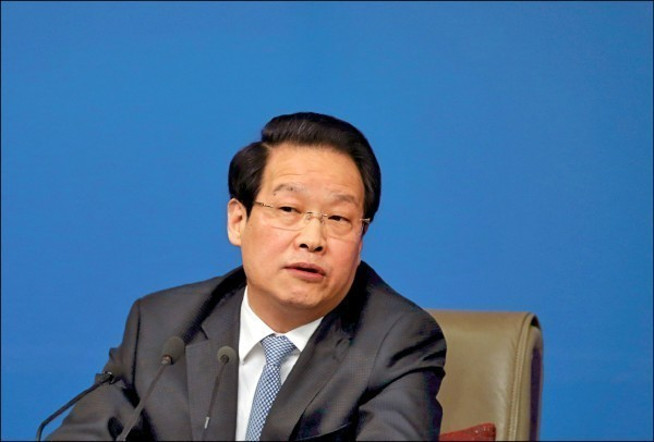 曾任中国保监会主席的项俊波。(路透档案照)