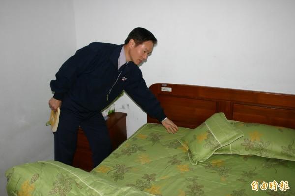 耿繼文在2008年時擔任花蓮警察局長期間,接手偵辦花蓮吉安鄉的「五子命案」,還曾在凶宅內住了7天,破除「鬼屋」傳言。(資料照,記者楊宜中攝)