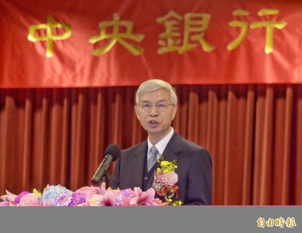 央行總裁楊金龍談匯率要企業避險(資料照)
