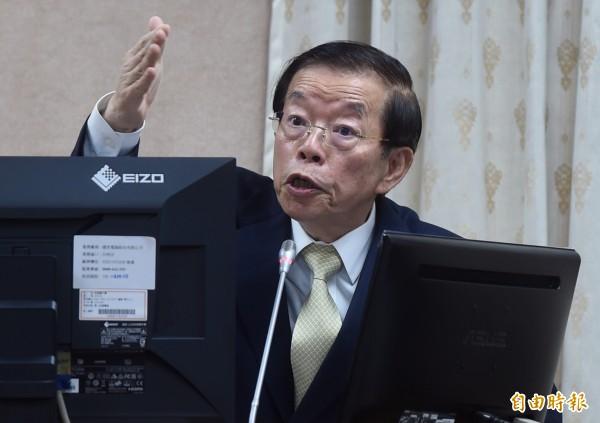 謝長廷公布法律證據 籲韓國瑜不要再亂扯錄音帶事件