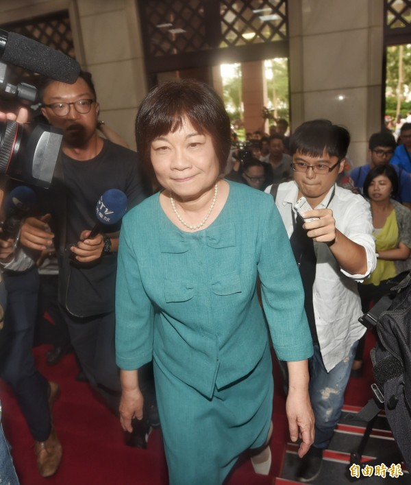 陳美伶在林全內閣時任職行政院秘書長,現任國發會主委。(資料照,記者方賓照攝)