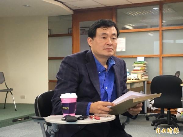 民進黨秘書長洪耀福表示,2018年新北市長選舉民進黨一定會提出自己的人選。(資料照,記者楊淳卉攝)