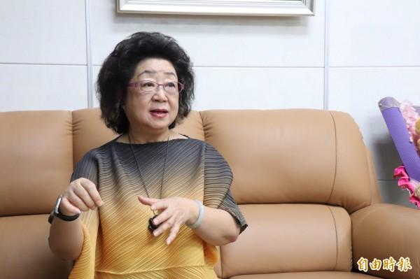 高雄市教育局長范巽綠將回鍋接任教育部政務次長。(資料照,記者黃旭磊攝)