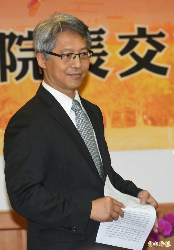 中研院院長廖俊智。(資料照)