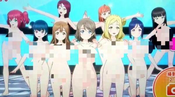 由史克威爾艾尼克斯推出的街機節奏音樂遊戲《LoveLive! 學園偶像祭 ~after school ACTIVITY~》今日疑似出現系統出包,遊戲中的角色衣服全部不見,通通變成全裸。(圖擷自PTT)