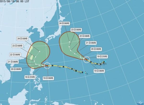 中颱「天鵝」進逼 最快明天下午發海警