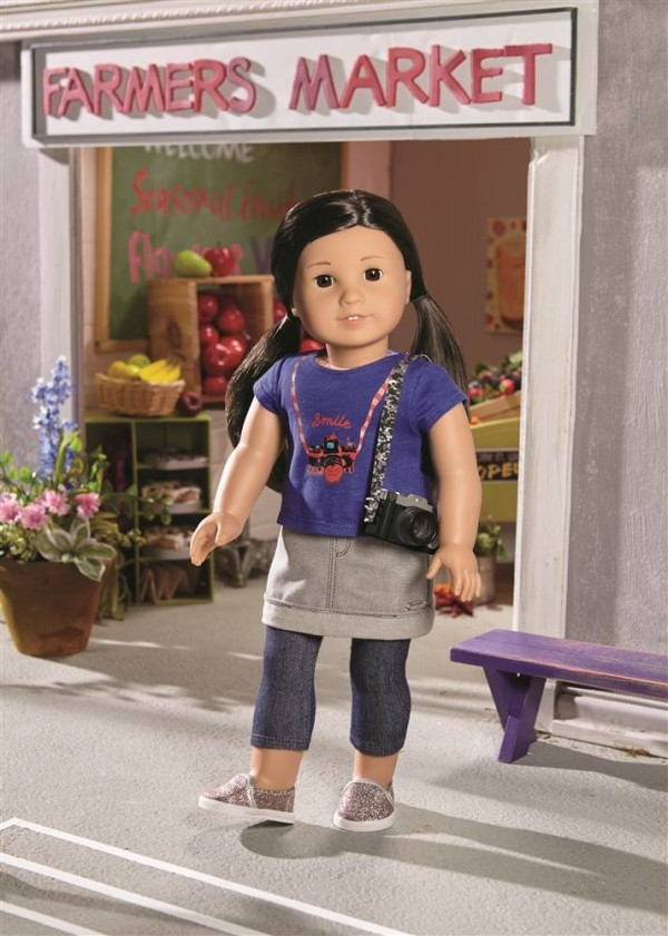 以韓國電影製作人為基礎的娃娃Z. Yang。(圖擷自NBC News)