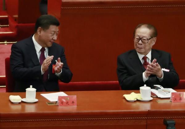 郭文貴表示,習近平不想成為江澤民的傀儡,與江家的鬥爭已逐漸浮上檯面。(歐新社)