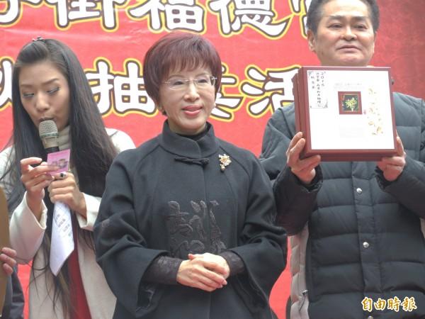 國民黨主席洪秀柱任免的5個副主席,其中的郝、胡、詹都已經不支持她。(資料照,記者翁聿煌攝)