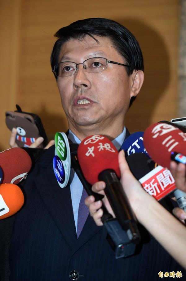 台南市議員謝龍介。(資料照,記者簡榮豐攝)