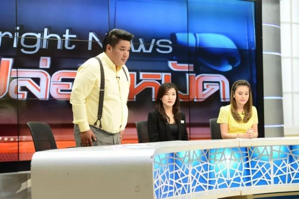 余宏在節目上,因一句「中國人自己帶中國人來死」,引起中國網友撻伐。(圖擷取自微博)