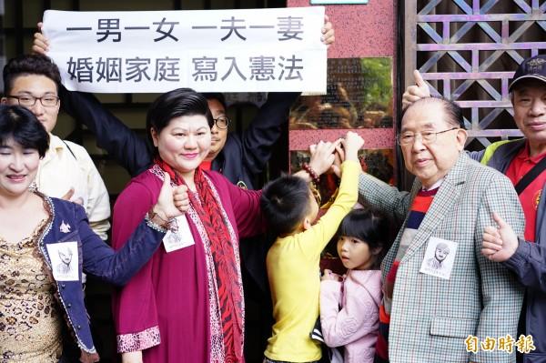 律師王可富批同婚合法化的話,台灣會絕子絕孫。(資料照,記者黃欣柏攝)