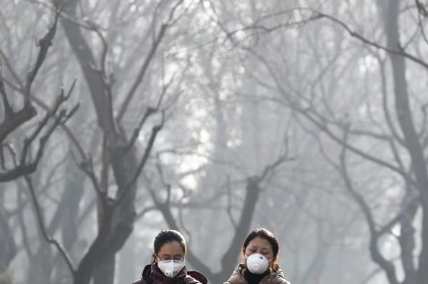 中國霧霾1年害死逾10萬人 日韓遭殃占3成