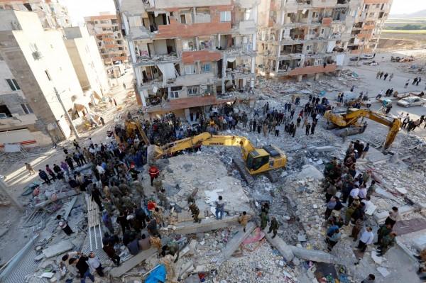 根據伊朗官方最新消息,目前該國死傷人數已上升至407人死亡、約6700人受傷。(歐新社)